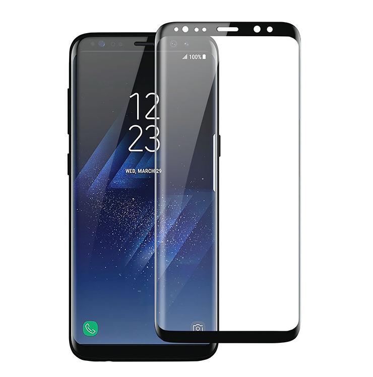 Szkło hartowane 3D MOCOLO dla Samsung Galaxy S9 PLUS - ramka w kolorze czarnym -