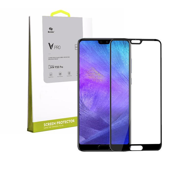 Szkło hartowane BENKS V PRO dla Huawei P20 Pro -