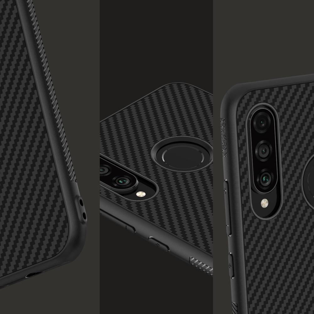 Etui Nillkin Synthetic Fiber dla Huawei P30 Lite - Nillkin Synthetic Fiber - Etui które pokochasz.