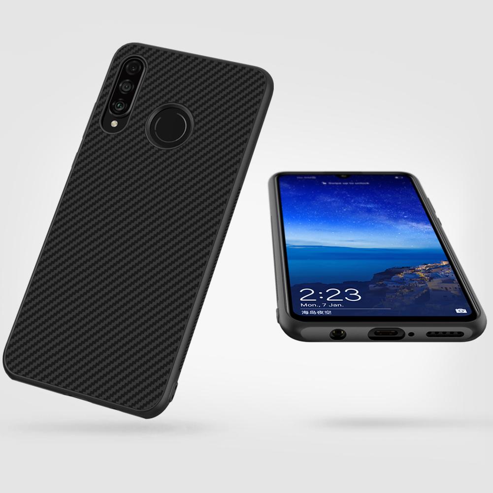 Etui Nillkin Synthetic Fiber dla Huawei P30 Lite - Zawartość zestawu: