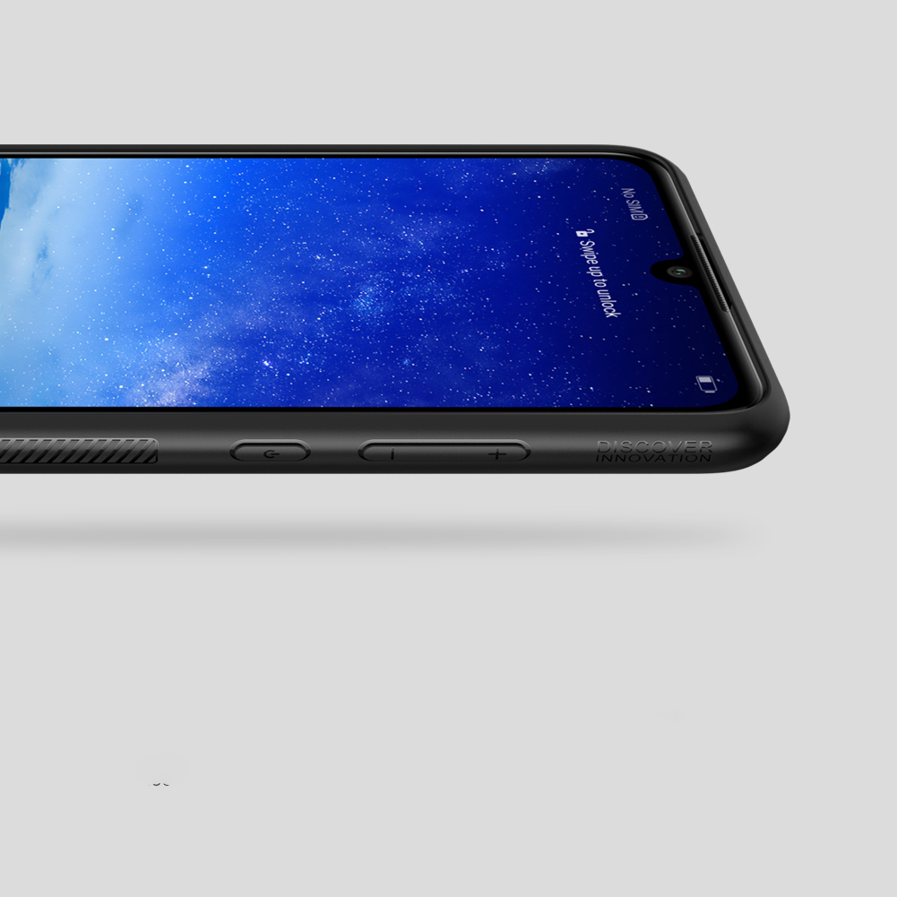 Etui Nillkin Synthetic Fiber dla Huawei P30 Lite - Wysokiej jakości włókno węglowe