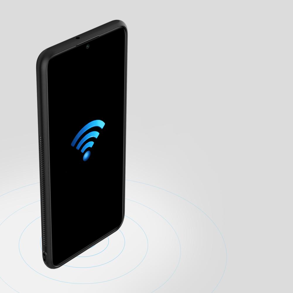 Etui Nillkin Synthetic Fiber dla Huawei P30 Lite - Geometryczne wzory - stylowe oraz ponadczasowe