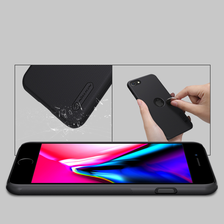 Etui Nillkin Frosted Shield dla Apple iPhone SE 2020 - Wytrzymałe, odporne, szykowne !