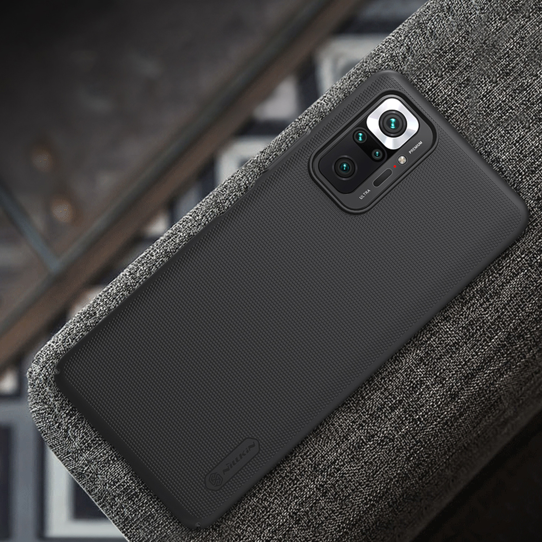 Etui Nillkin Frosted Shield dla Xiaomi Redmi Note 10 Pro/10 Pro Max - Wytrzymałe, odporne, szykowne !