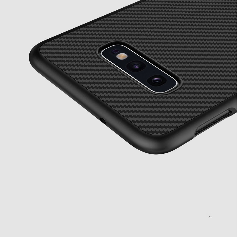 Etui Nillkin Synthetic Fiber dla Samsung Galaxy S10e - Wysokiej jakości włókno węglowe
