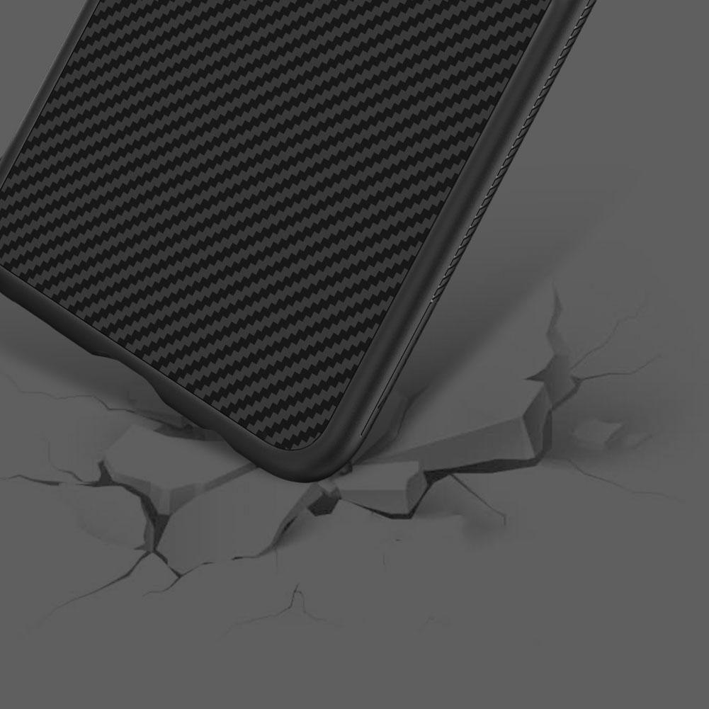 Etui Nillkin Synthetic Fiber dla Samsung Galaxy S10e - Geometryczne wzory - stylowe oraz ponadczasowe