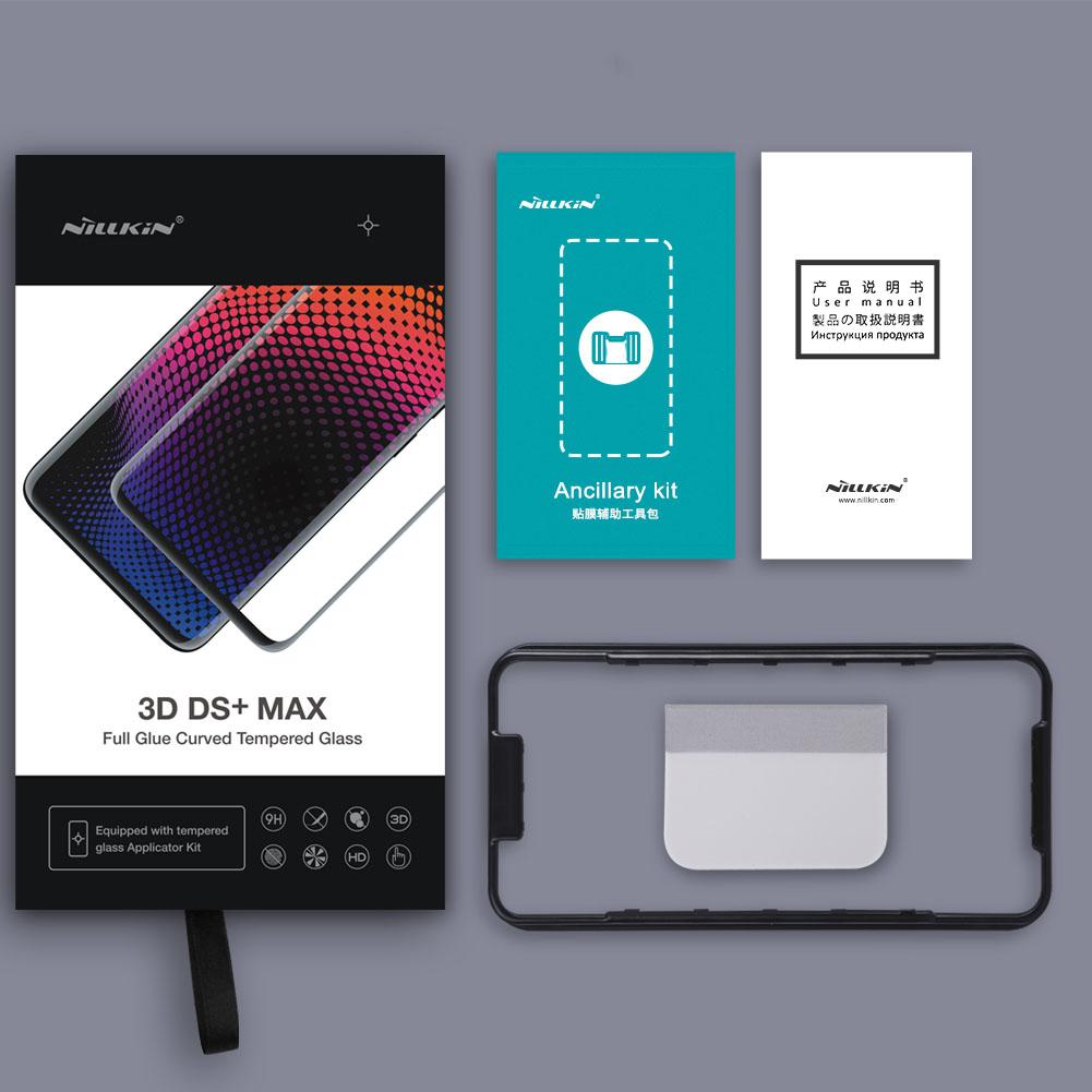 Szkło NILLKIN Full Glue 3D DS+ MAX dla Samsung Galaxy S9 Plus - Seria DS+ MAX 3D - świetna jakość, idelne dopasowanie oraz prosta aplikacja
