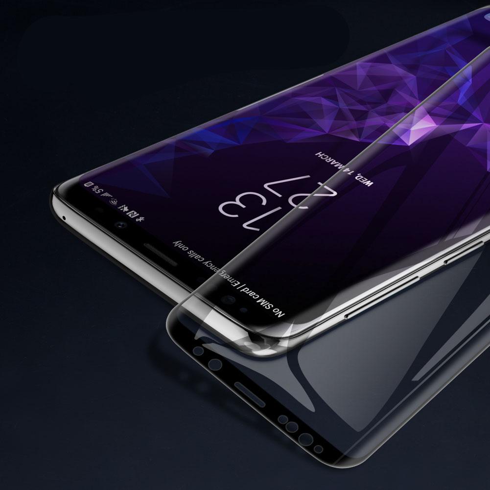 Szkło NILLKIN Full Glue 3D DS+ MAX dla Samsung Galaxy S9 Plus - Specyfikacja: Szkło NILLKIN 3D DS+ MAX Galaxy S9 Plus
