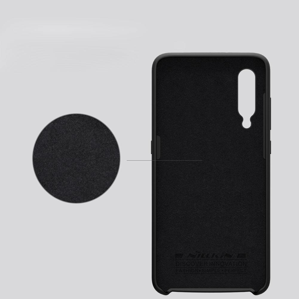 Etui Nillkin Flex Case dla Xiaomi Mi 9 - Eleganckie, materiałowe wypełnienie