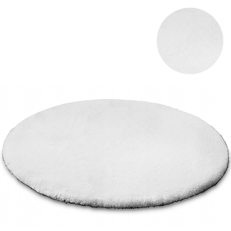 Dywan okrągły Rabbit Strado 180x180 White (Biały)