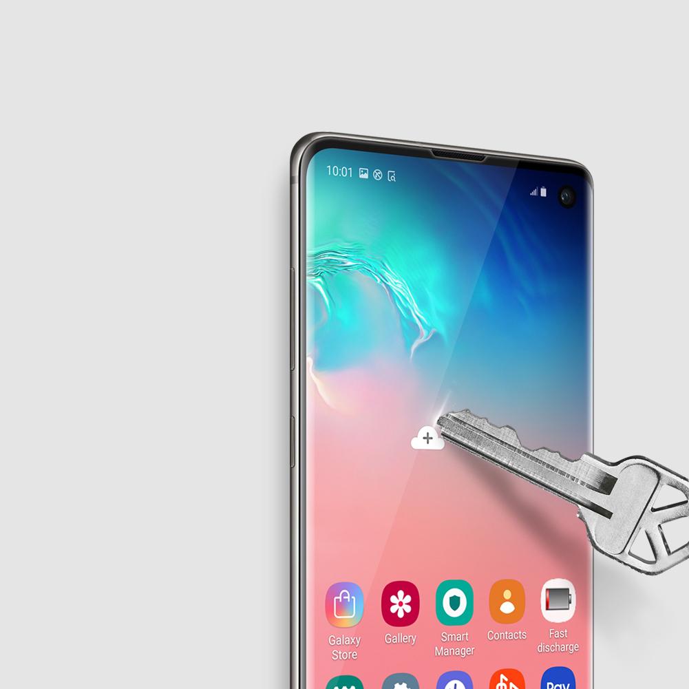 Szkło NILLKIN 3D CP+ MAX dla Samsung Galaxy S10 - Seria CP+ MAX 3D - światna jakość, idelne dopasowanie oraz prosta aplikacja