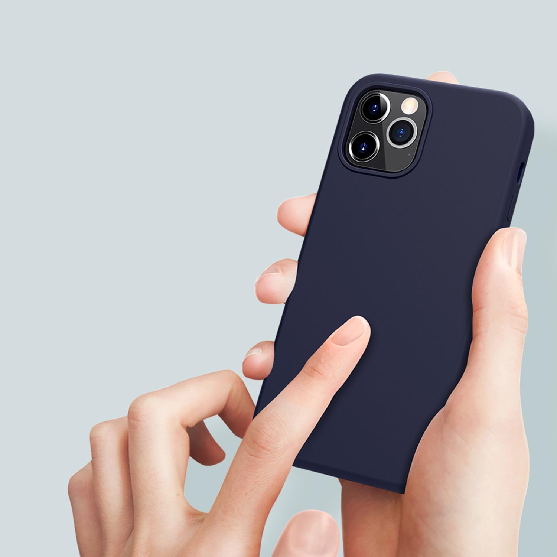 Etui Nillkin Flex Case dla Apple iPhone 12 Pro Max - Specyfikacja: Etui NILLKIN Flex Pure Case do iPhone 12 Pro Max Blue