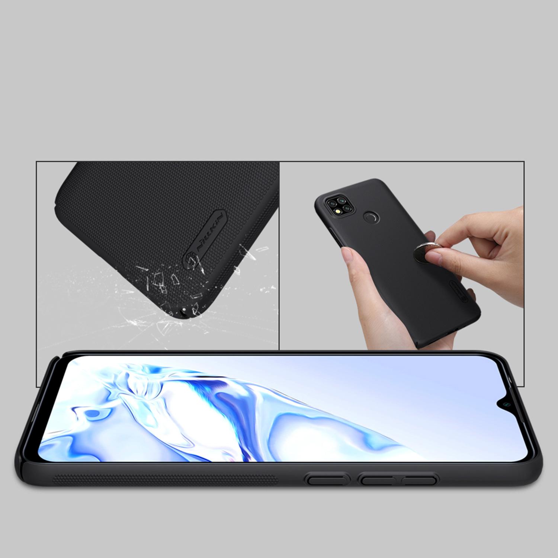 Etui Nillkin Frosted Shield dla Xiaomi Redmi 9C - Wytrzymałe, odporne, szykowne !
