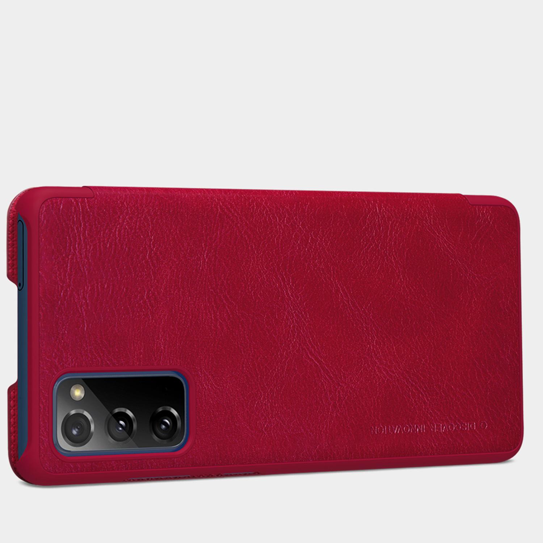Etui Nillkin QIN dla Samsung Galaxy S20 FE 2020 - Zamykana klapka - świetna ochrona oraz niecodzienny design