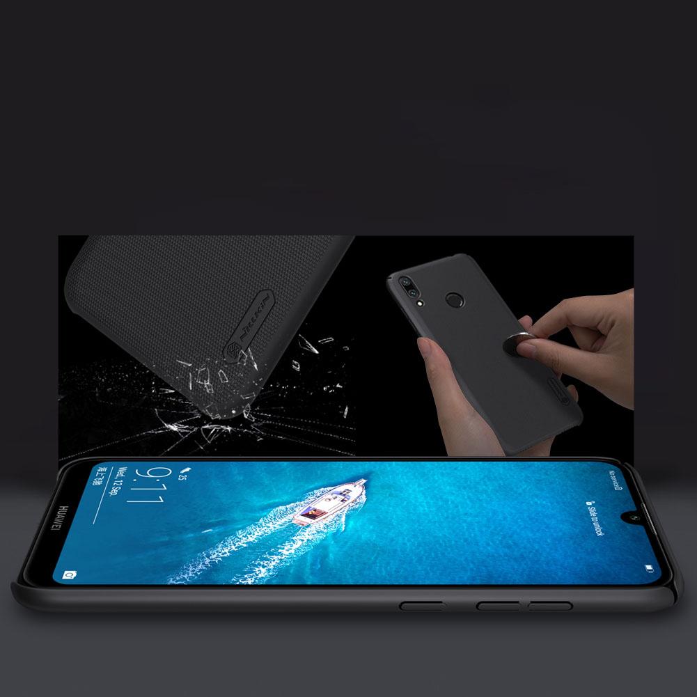 Etui Nillkin Frosted Shield dla Huawei Y7 2019 / Y7 Prime 2019 - Wytrzymałe, odporne, szykowne !