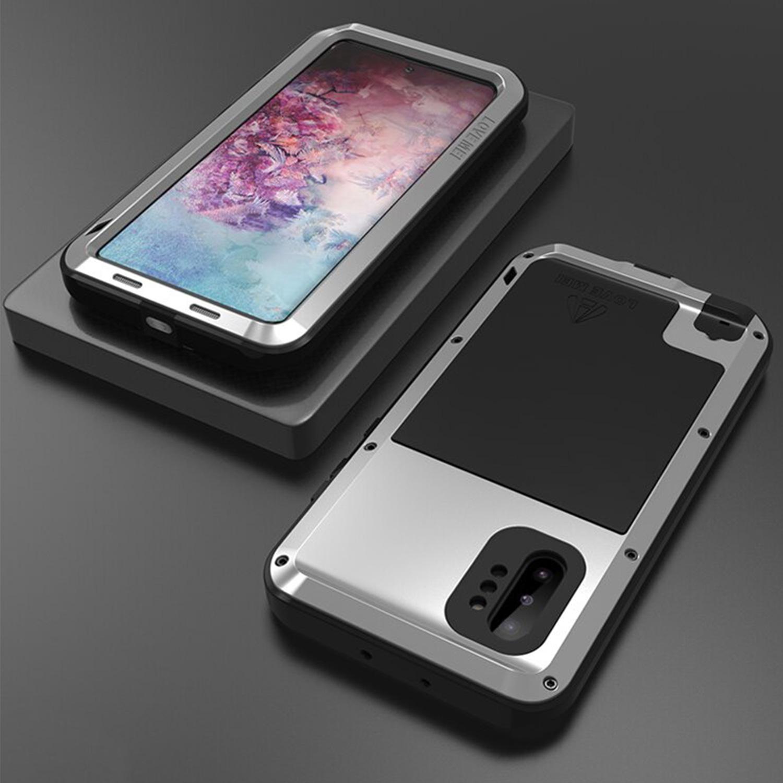Etui Love Mei dla Samsung Galaxy Note 10 Plus - Specyfikacja: Etui PANCERNE Love Mei Samsung Galaxy Note 10 Plus Black
