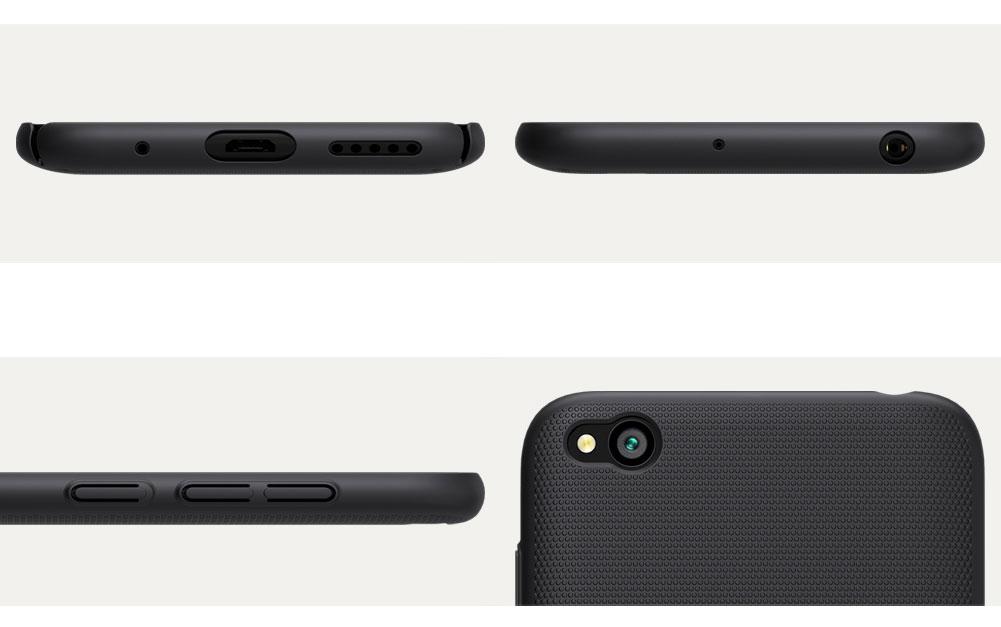 Etui Nillkin Frosted Shield dla Xiaomi Redmi GO - Wytrzymałe, odporne, szykowne !