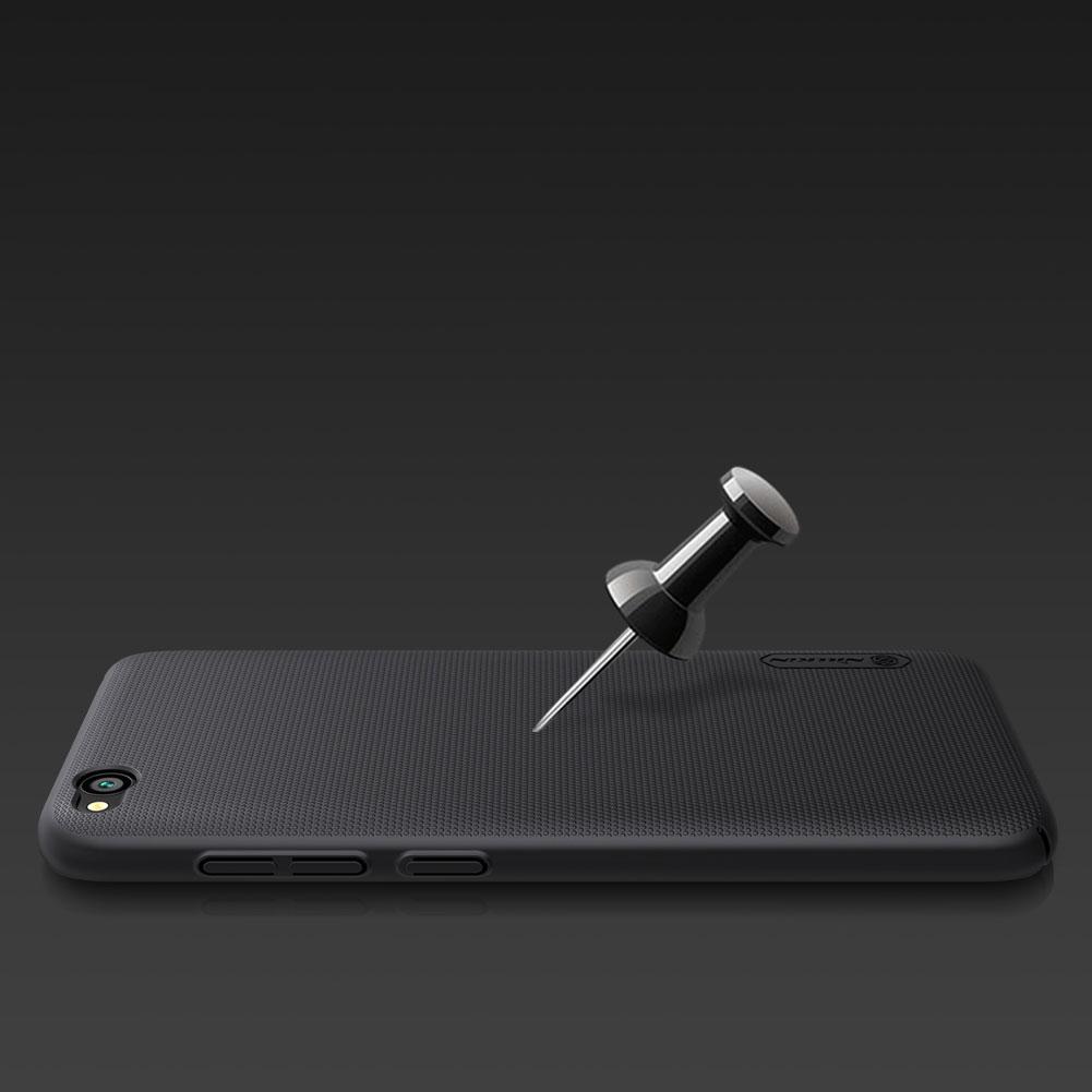 Etui Nillkin Frosted Shield dla Xiaomi Redmi GO - Doskonale leży w dłoni