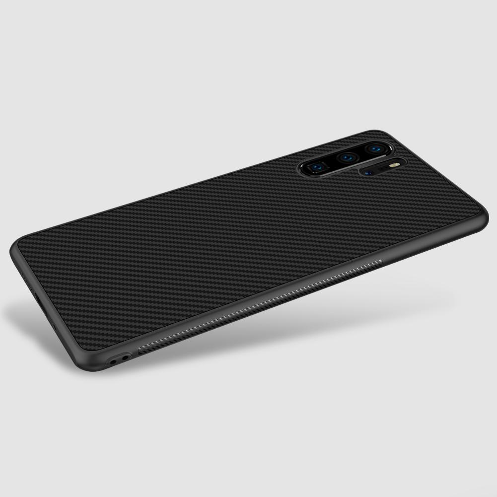 Etui Nillkin Synthetic Fiber dla Huawei P30 PRO - Wysokiej jakości włókno węglowe