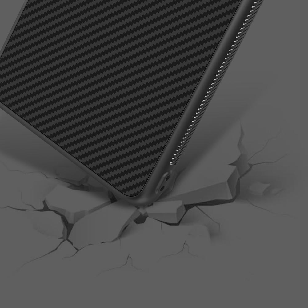 Etui Nillkin Synthetic Fiber dla Huawei P30 PRO - Geometryczne wzory - stylowe oraz ponadczasowe