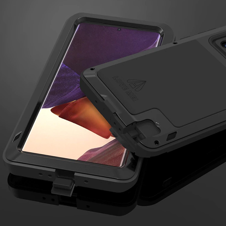 Etui Love Mei dla Samsung Galaxy Note 20 Ultra - Specyfikacja: Etui PANCERNE Love Mei do Samsung Galaxy Note 20 Ultra Red