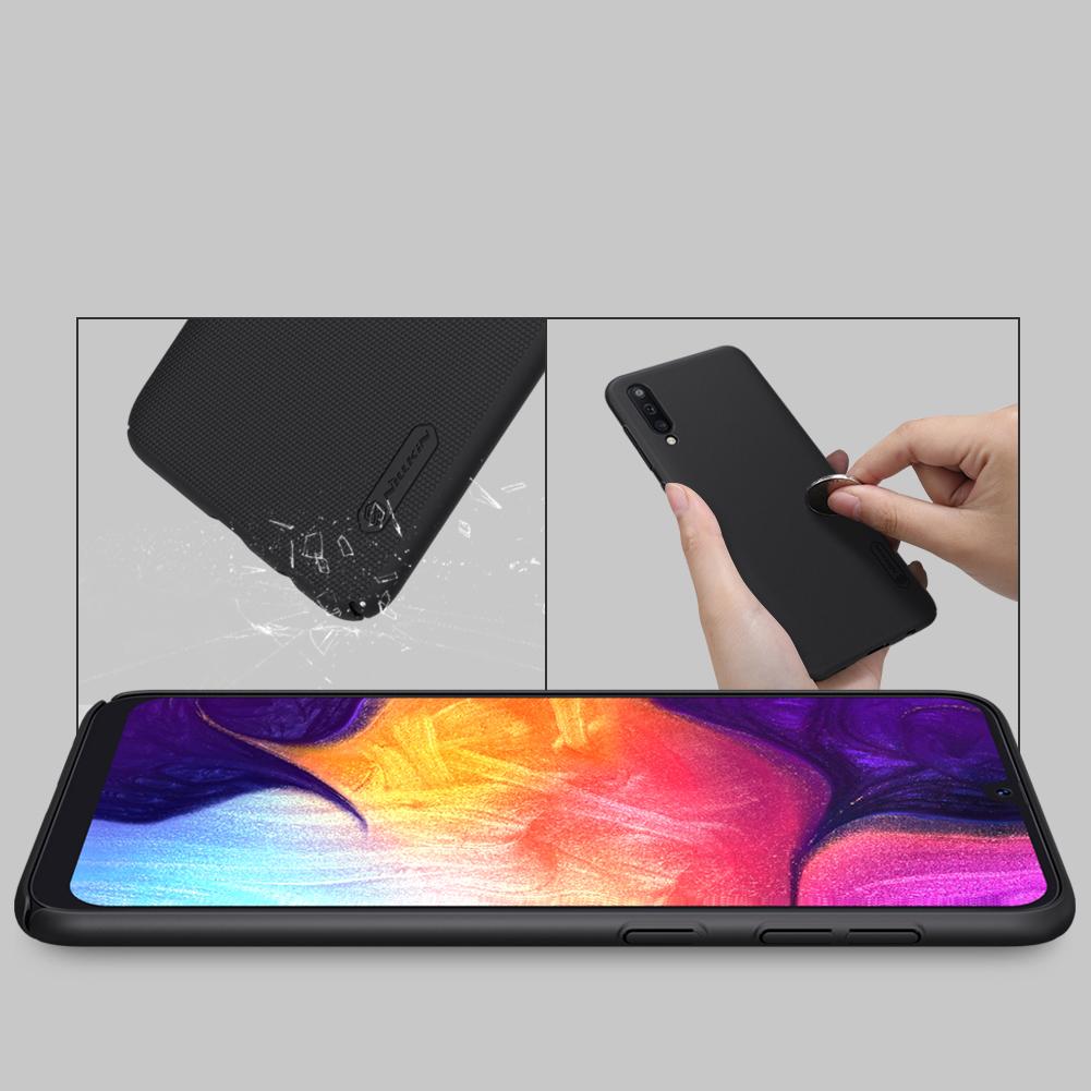 Etui Nillkin Frosted Shield dla Samsung Galaxy A50 - Wytrzymałe, odporne, szykowne !