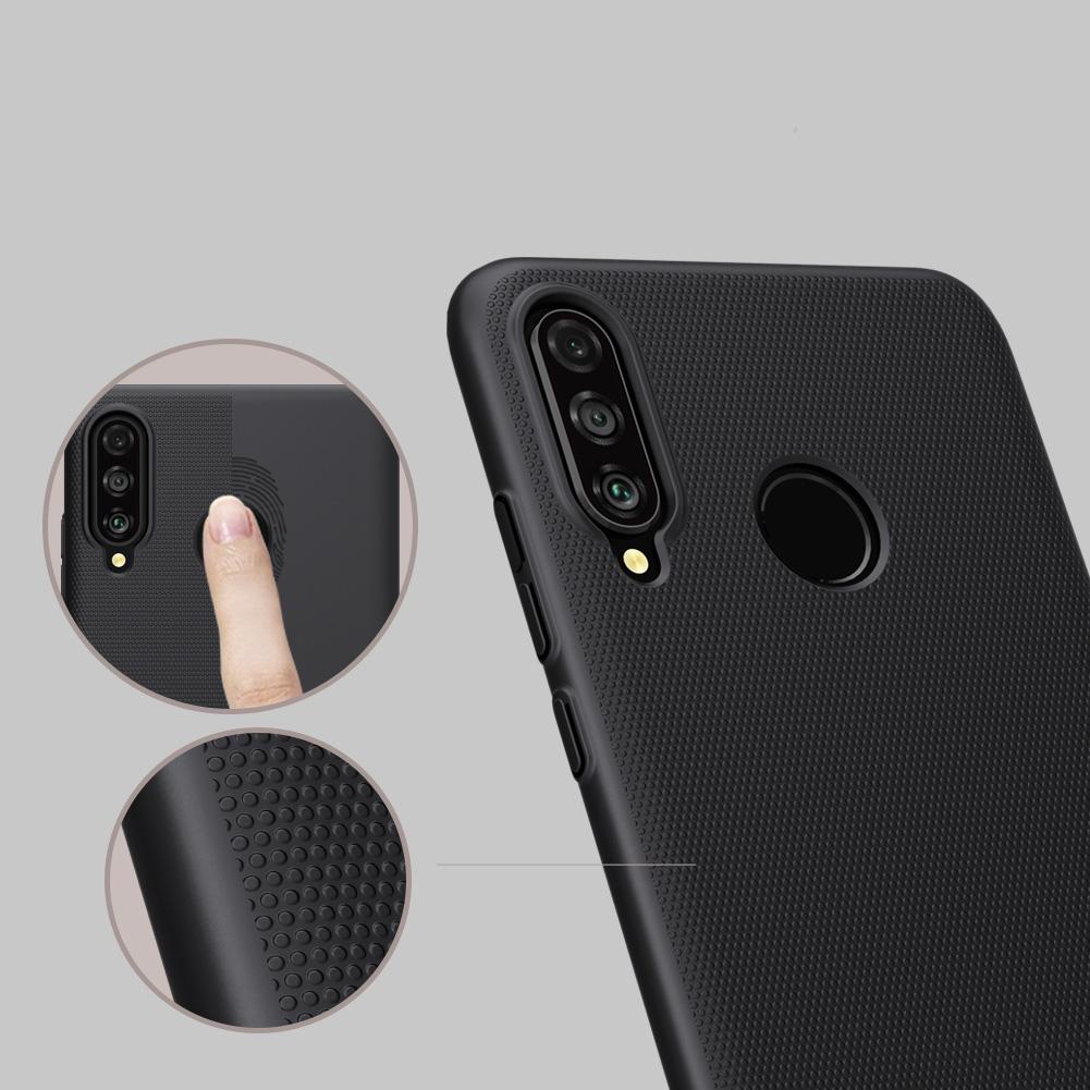 Etui Nillkin Frosted Shield dla Huawei P30 Lite - Doskonale leży w dłoni