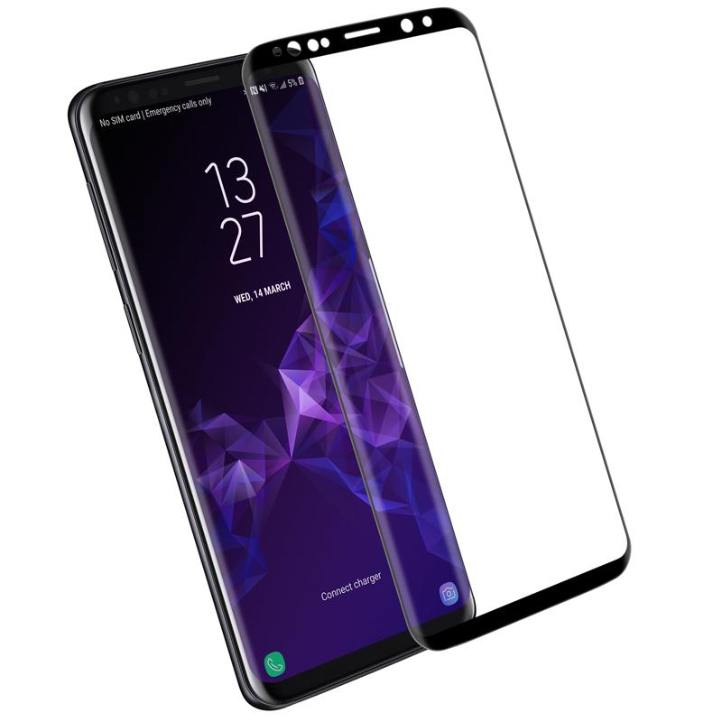 Szkło NILLKIN Full Glue 3D DS+ MAX dla Samsung Galaxy S9 -
