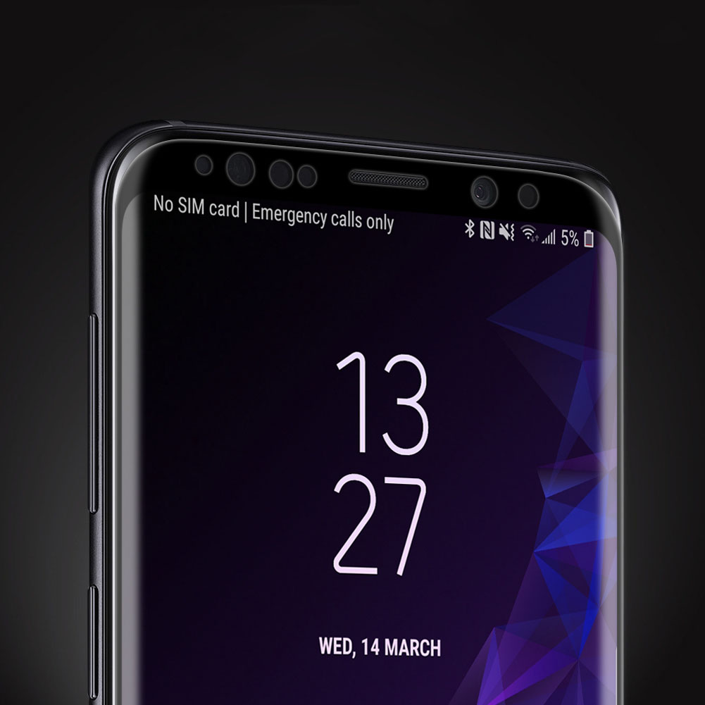 Szkło NILLKIN Full Glue 3D DS+ MAX dla Samsung Galaxy S9 - Super cienkie