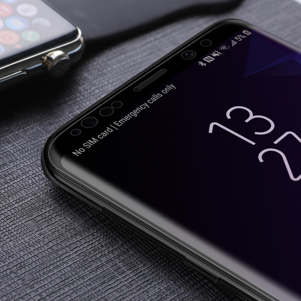 Szkło NILLKIN Full Glue 3D DS+ MAX dla Samsung Galaxy S9 - Seria DS+ MAX 3D - świetna jakość, idelne dopasowanie oraz prosta aplikacja