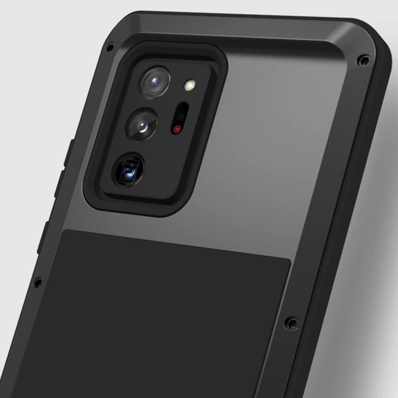 Etui Love Mei dla Samsung Galaxy Note 20 Ultra - Specyfikacja: Etui PANCERNE Love Mei do Samsung Galaxy Note 20 Ultra Black