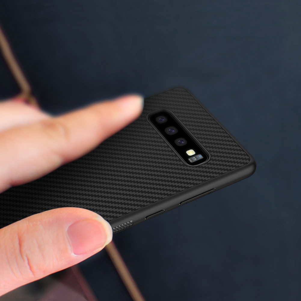 Etui Nillkin Synthetic Fiber dla Samsung Galaxy S10 - Nillkin Synthetic Fiber - Etui które pokochasz.