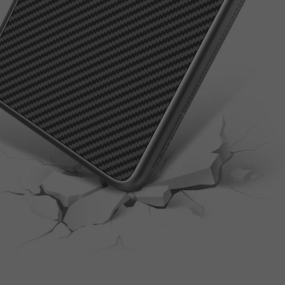 Etui Nillkin Synthetic Fiber dla Huawei P30 - Geometryczne wzory - stylowe oraz ponadczasowe