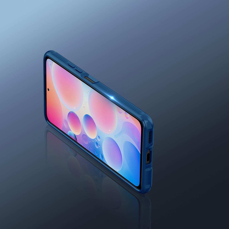 Etui Nillkin Camshield Xiaomi Poco F3 5G - Specyfikacja: Etui Nillkin CamShield Pro do Poco F3 5G