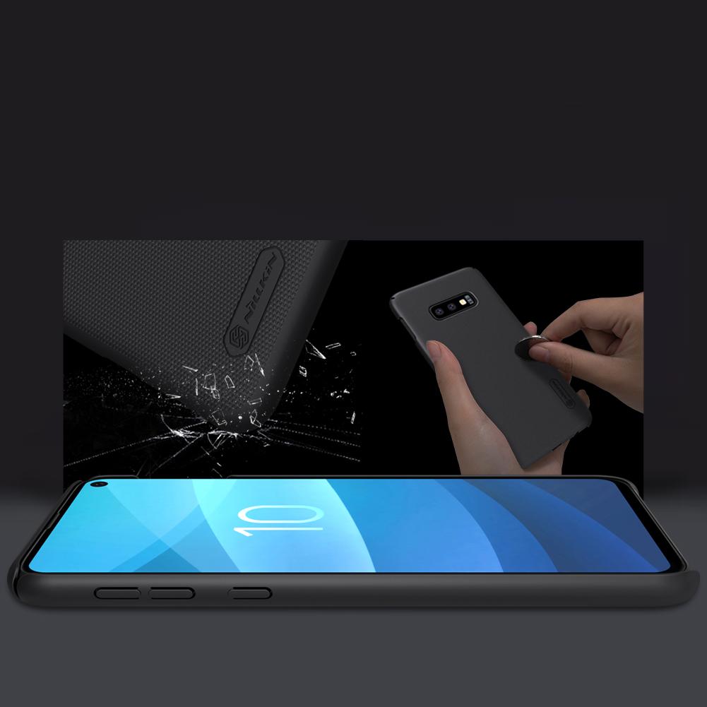 Etui Nillkin Frosted Shield dla Samsung Galaxy S10e - Zawartość zestawu: