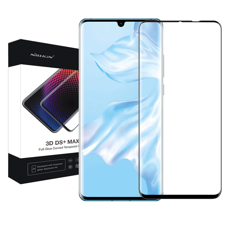 Szkło NILLKIN Full Glue 3D DS+ MAX dla Huawei P30 Pro -