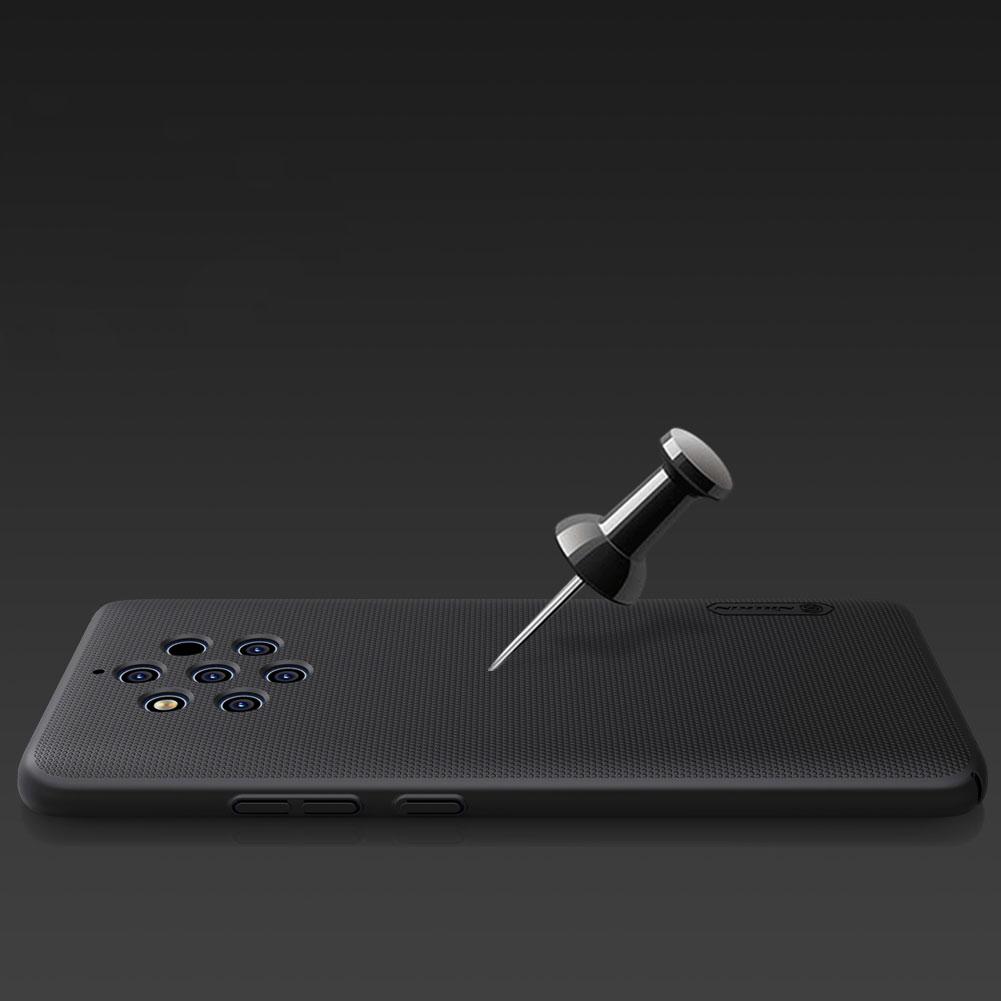 Etui Nillkin Frosted Shield dla Nokia 9 PureView - Doskonale leży w dłoni