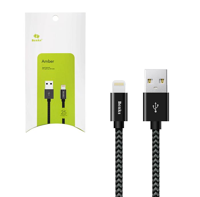 Kabel BENKS Amber Lightning MFI 25 cm -