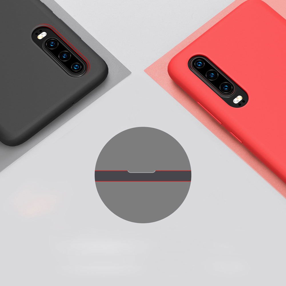 Etui Nillkin Flex Case dla Huawei P30 - Eleganckie, materiałowe wypełnienie