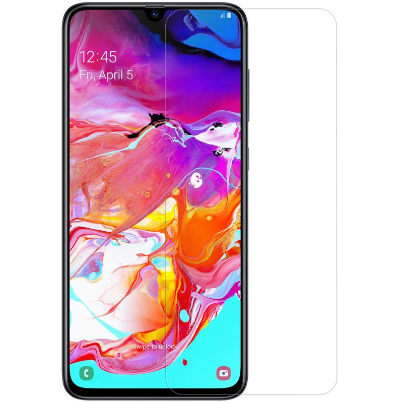 Szkło hartowane NILLKIN Amazing H dla Samsung Galaxy A70 - Zestaw zawiera