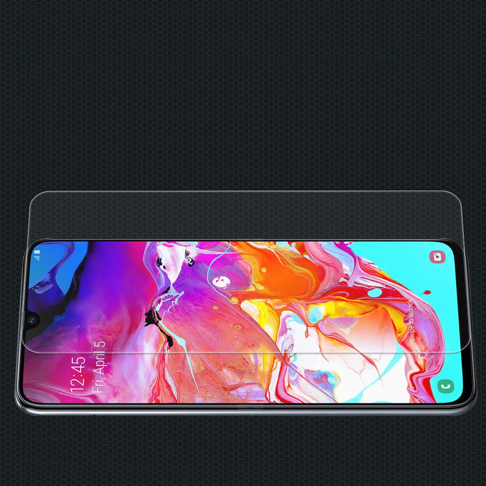 Szkło hartowane NILLKIN Amazing H dla Samsung Galaxy A70 -