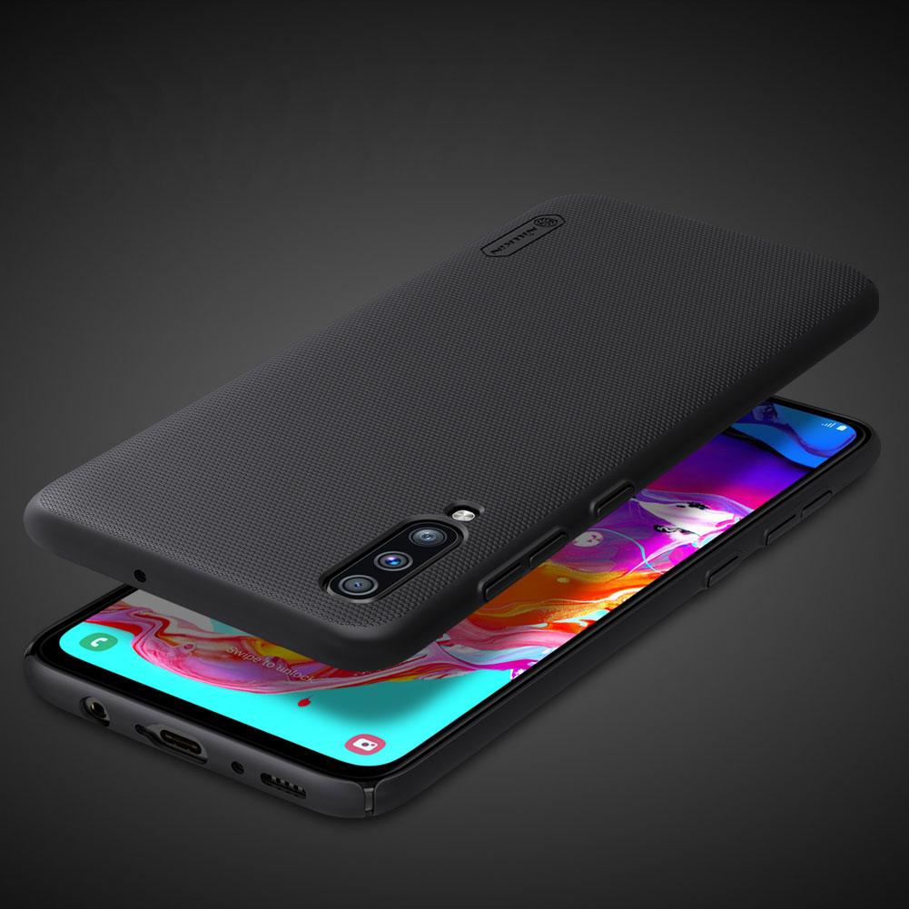 Etui Nillkin Frosted Shield dla Samsung Galaxy A70 - Wytrzymałe, odporne, szykowne !
