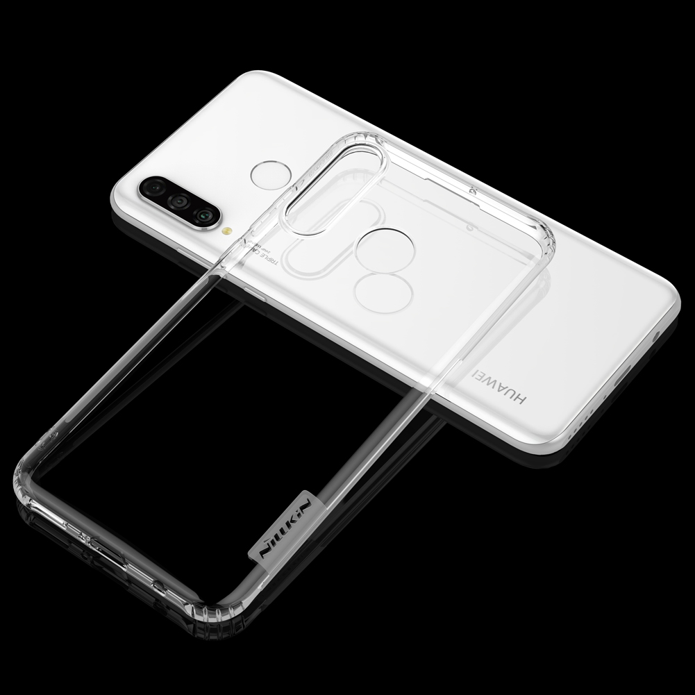 Etui Nillkin Nature dla Huawei P30 Lite - Antypoślizgowe elementy ułatwiające chwyt