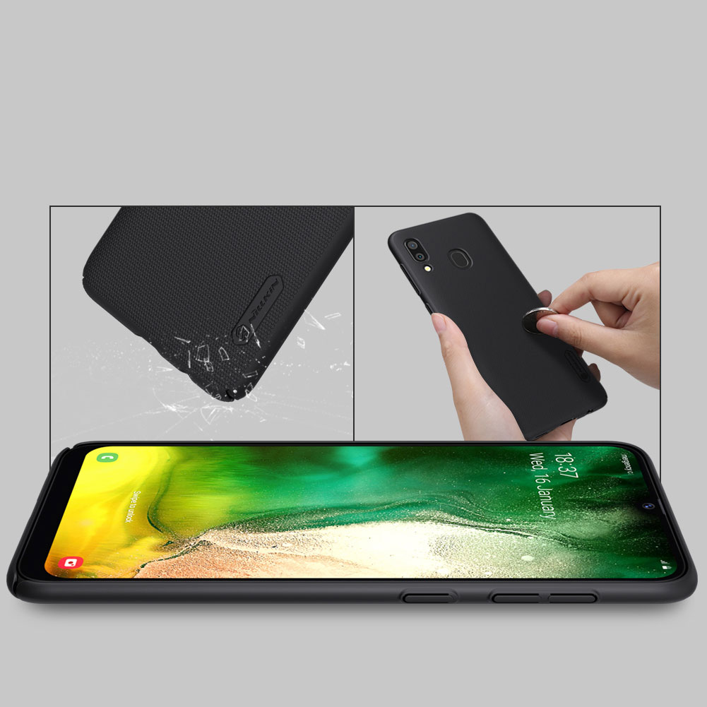 Etui Nillkin Frosted Shield dla Samsung Galaxy A30 - Wytrzymałe, odporne, szykowne !