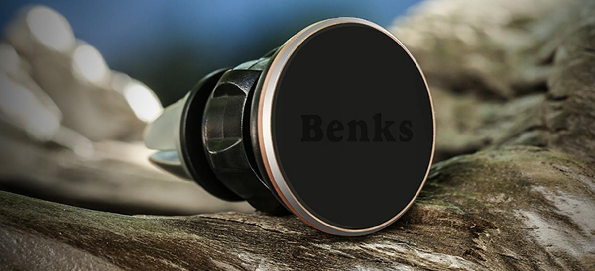 Uchwyt BENKS Samochodowy magnetyczny AIR VENT - Zestaw zawiera: