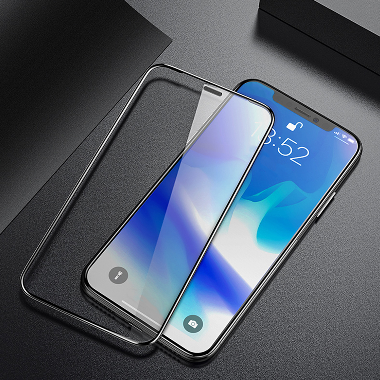 Szkło hartowane BENKS X PRO+ 3D dla Apple iPhone XS MAX - Super cieńkie