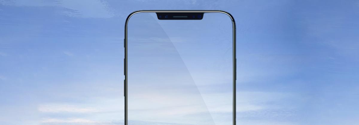 Szkło hartowane BENKS X PRO+ 3D dla Apple iPhone XS MAX - Profilowane szkło 3D