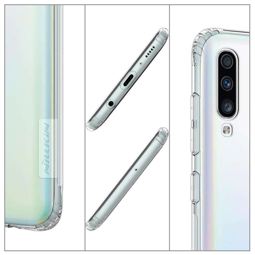 Etui Nillkin Nature dla Samsung Galaxy A70 - Dyskretna ochrona Twojego smartfona!