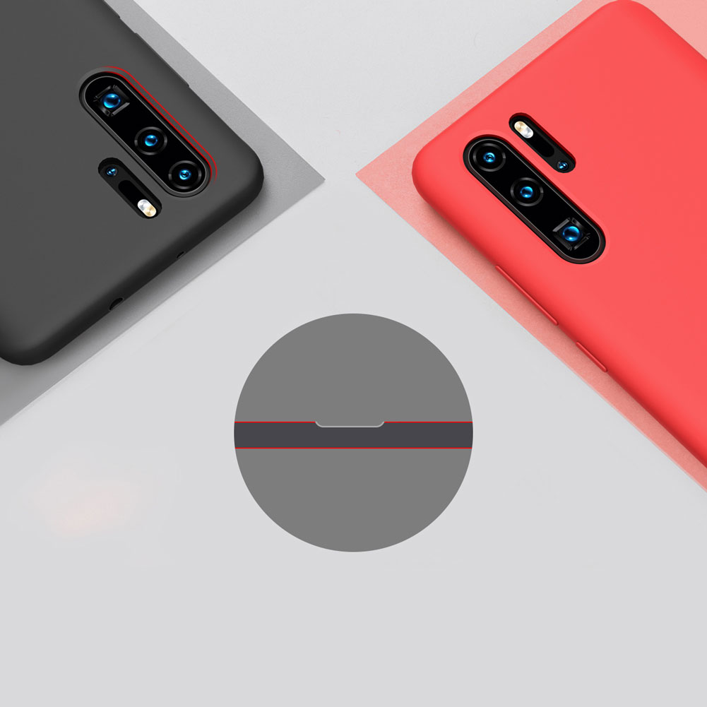 Etui Nillkin Flex Case dla Huawei P30 PRO - Eleganckie, materiałowe wypełnienie