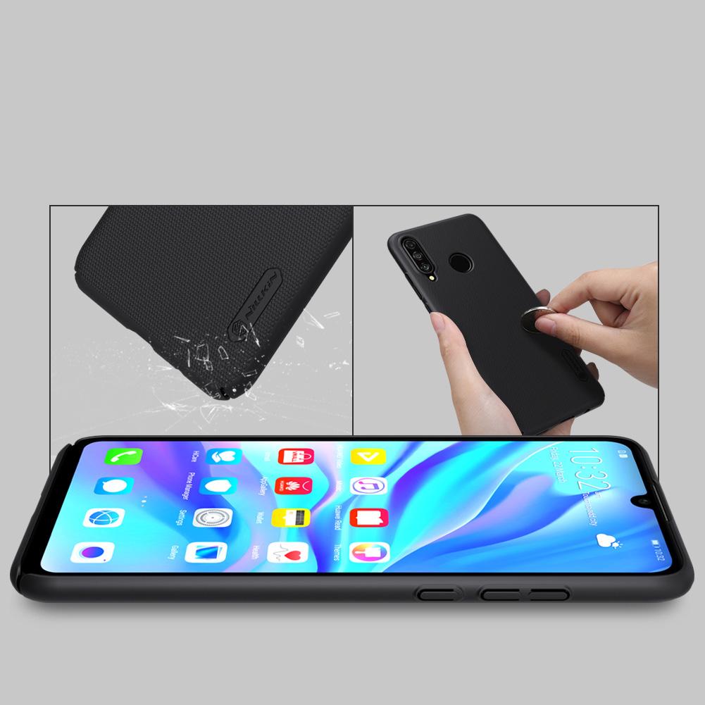Etui Nillkin Frosted Shield dla Huawei P30 Lite - Wytrzymałe, odporne, szykowne !